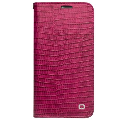 Husa iPhone X/Xs 5.8'' Crocodile Texture Qialino Roz