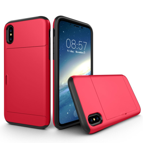 Husa iPhone X/Xs 5.8'' Sliding Card Holder Rosie