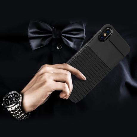 Husa iPhone X/Xs 5.8'' Triangle Pattern Neagra