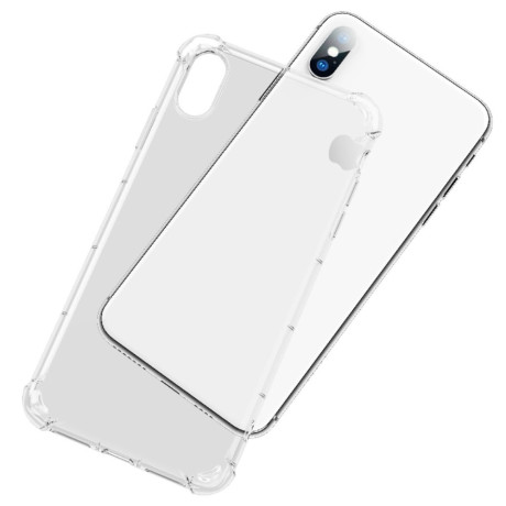 Husa iPhone X/XS Air Cushion Drop-Proof Transparenta Rock