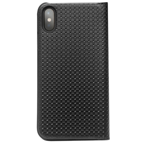 Husa iPhone X/XS Auto Absorbed Black Qialino