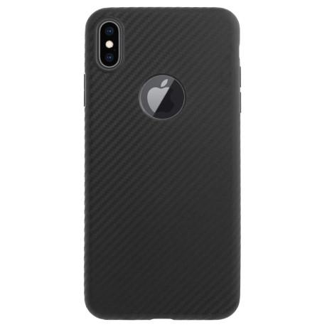 Husa iPhone X/XS, Hoco Delicate Shadow Neagra