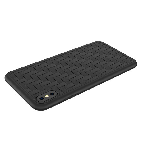 Husa iPhone X/XS Hoco Tracery , Neagra