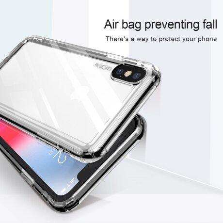 Husa Safety Airbags Baseus iPhone X/XS Transparenta