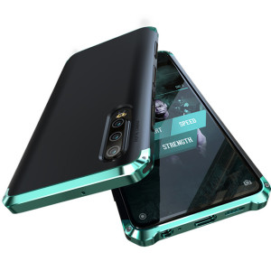 Husa iPhone X/XS Shockproof Armor Cover, Rama Verde