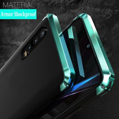 Husa iPhone X/XS Shockproof Armor Cover, Rama Verde