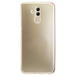Husa Jelly Metal Huawei Mate 20 Lite, Auriu