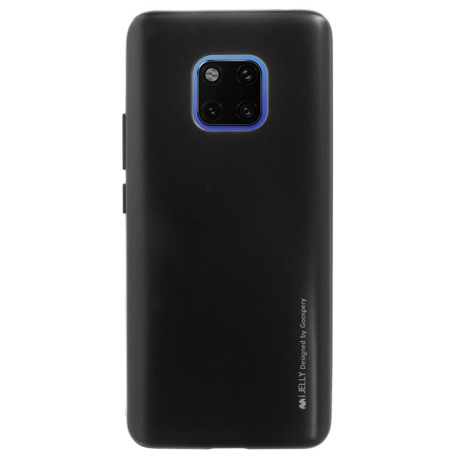 Husa Jelly Metal Huawei Mate 20 Pro, Neagra