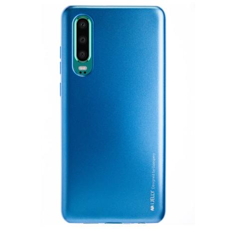 Husa Jelly Metal Huawei P30 , Albastru