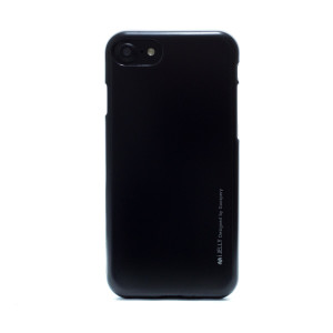 Husa Jelly Metal iPhone 7/8/SE 2 Negru Goospery