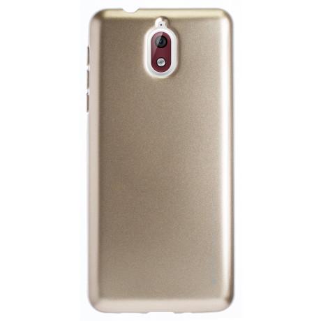 Husa Jelly Metal Nokia 3.1, Goospery Auriu