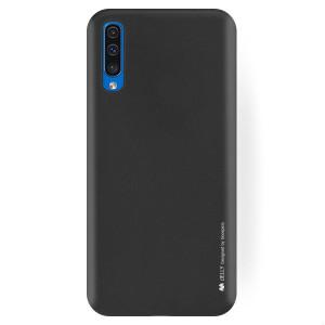 Husa Jelly Metal Samsung Galaxy A50, Negru