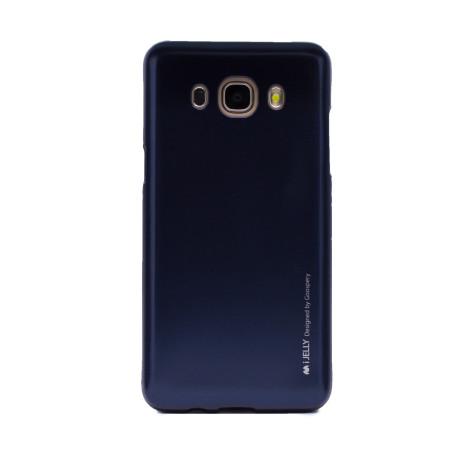 Husa Jelly Metal Samsung Galaxy J5 2016 Albastru Goospery