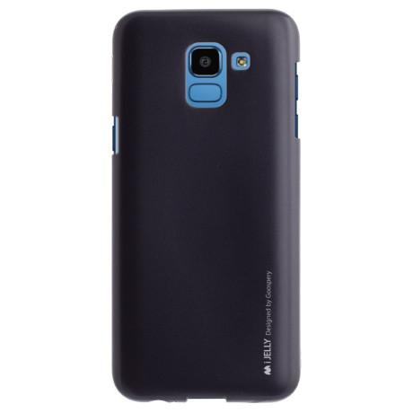 Husa Jelly Metal Samsung Galaxy J6 2018, Goospery Neagra