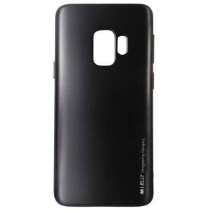 Husa Jelly Metal Samsung Galaxy S9 Goospery Negru
