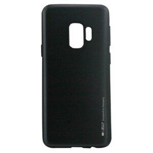 Husa Jelly Metal Samsung Galaxy S9 Plus Goospery Negru