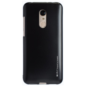 Husa Jelly Metal  Xiaomi Redmi 5 Plus, Negru