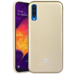 Husa Jelly Samsung Galaxy A50, Goospery Auriu