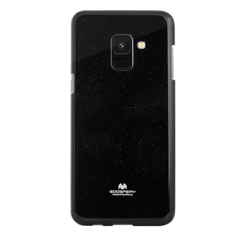 Husa Jelly Samsung Galaxy A8 2018 Negru Goospery