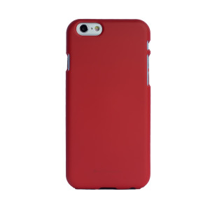 Husa Jelly Soft iPhone 6/6S Rosu Goospery