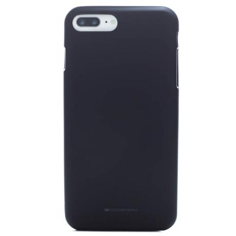 Husa Jelly Soft iPhone 7 Plus Goospery Negru
