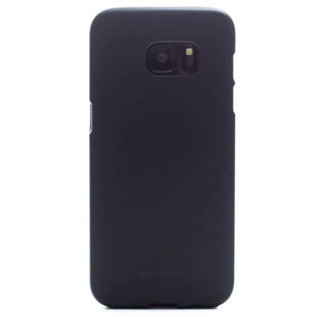 Husa Jelly Soft Samsung Galaxy S7 Edge Negru Goospery