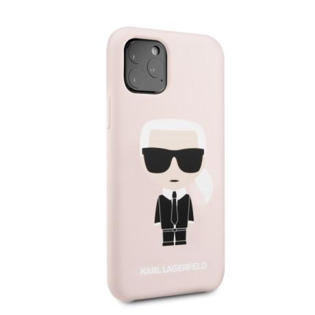 Husa Karl Lagerfeld Silicone pentru iPhone 11 Roz