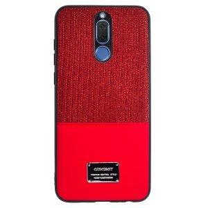 Husa Magnetica Huawei Mate 10 Lite, Rosu Glitter CTK