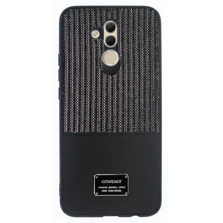 Husa Magnetica Huawei Mate 20 Lite, Negru Glitter CTK