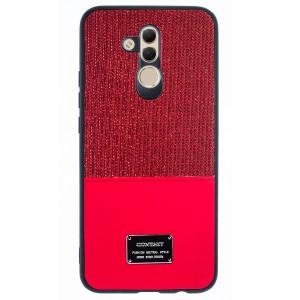 Husa Magnetica Huawei Mate 20 Lite, Rosu Glitter CTK