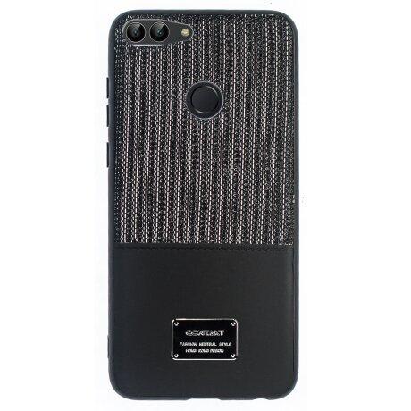 Husa Magnetica Huawei P Smart, Negru Glitter CTK