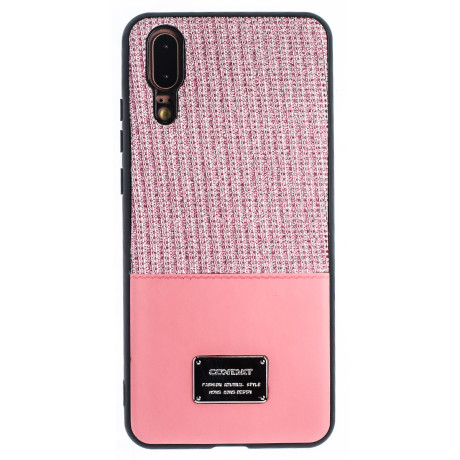 Husa Magnetica Huawei P20, Roz Glitter CTK