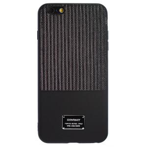 Husa Magnetica iPhone 6 Plus, Negru Glitter CTK