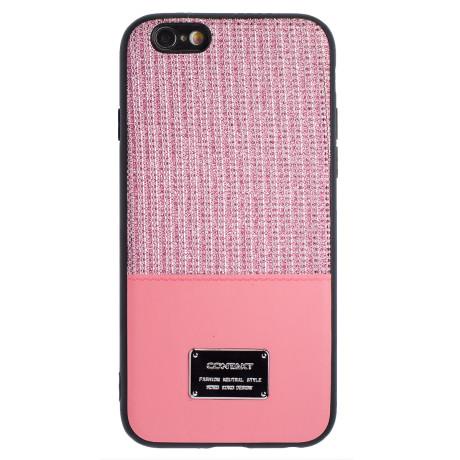 Husa Magnetica iPhone 6/6s, Roz Glitter CTK
