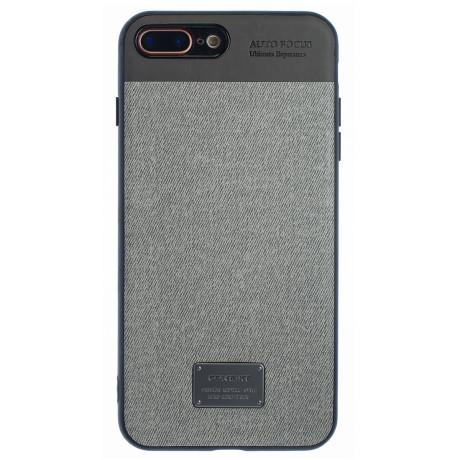 Husa Magnetica iPhone 7/8 Plus, Gri CTK