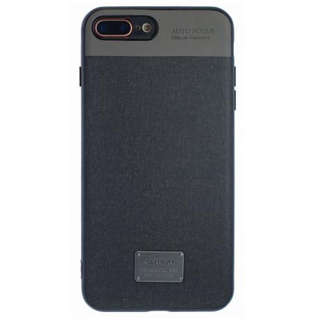 Husa Magnetica iPhone 7/8 Plus, Negru CTK