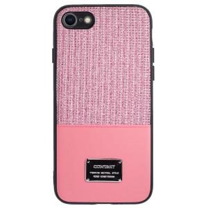 Husa Magnetica iPhone 7/8/SE 2, Roz Glitter CTK
