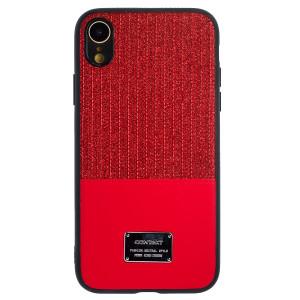 Husa Magnetica iPhone XR, Rosu Glitter CTK