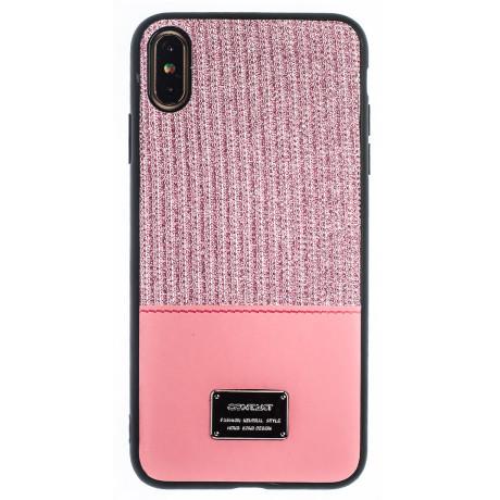 Husa Magnetica iPhone XS Max, Roz Glitter CTK