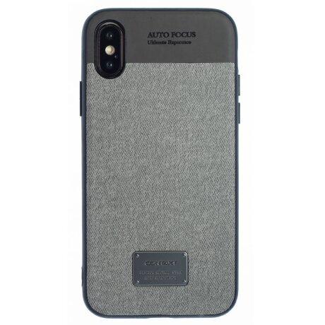 Husa iPhone X/XS, Gri CTK