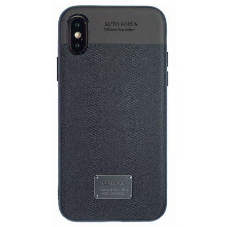 Husa hard iPhone X/XS, Negru CTK