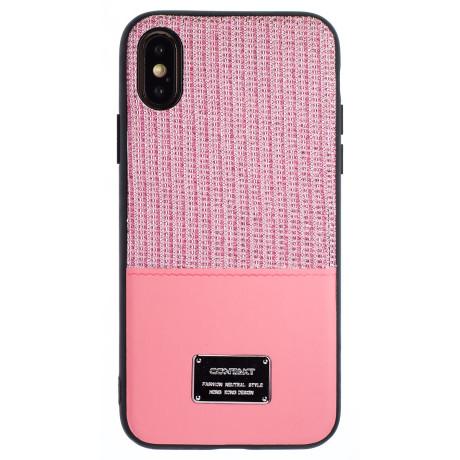 Husa Magnetica iPhone X/XS, Roz Glitter CTK