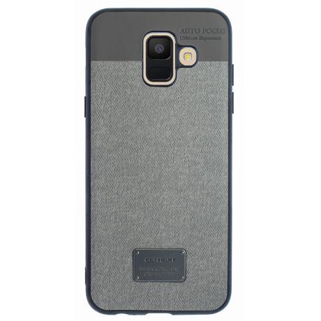Husa Magnetica Samsung Galaxy A6 2018, Gri  CTK