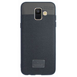 Husa Magnetica Samsung Galaxy A6 2018, Negru CTK