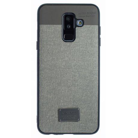 Husa Magnetica Samsung Galaxy A6 Plus 2018, Gri CTK