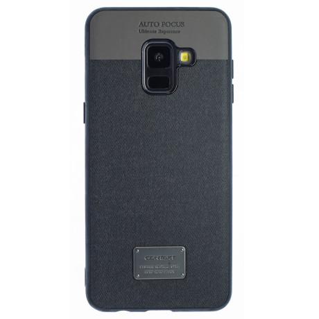 Husa Magnetica Samsung Galaxy A8 2018, Negru CTK