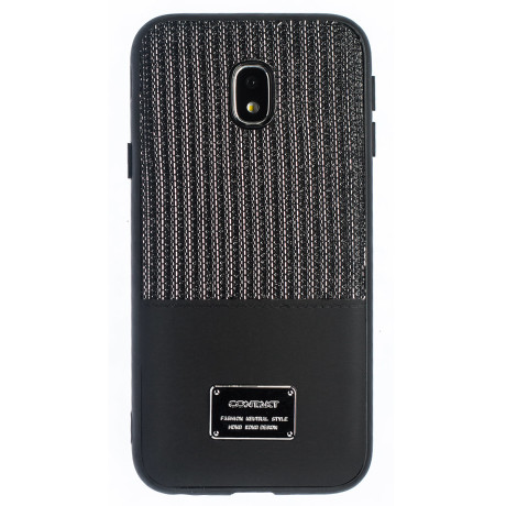 Husa Magnetica Samsung Galaxy J3 2017, Negru Glitter CTK