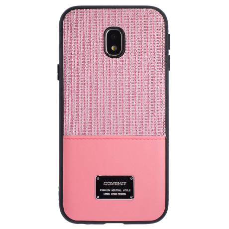 Husa Magnetica Samsung Galaxy J3 2017, Roz Glitter CTK