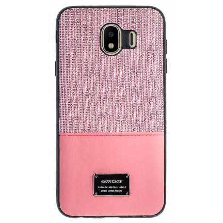 Husa Magnetica Samsung Galaxy J4 2018, Roz Glitter CTK