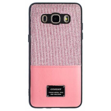 Husa Magnetica Samsung Galaxy J5 2016, Roz Glitter CTK